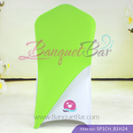 light-green Spandex Chair cap cover Hat/Suit Bag