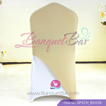 dark-champagne Spandex Chair cap cover Hat/Suit Bag
