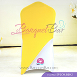 Yellow Spandex Chair cap cover Hat/Suit Bag