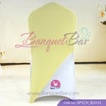 light-yellow Spandex Chair cap cover Hat/Suit Bag