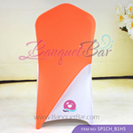 Orange Spandex Chair cap cover Hat/Suit Bag