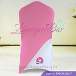 Pink Spandex Chair cap cover Hat/Suit Bag
