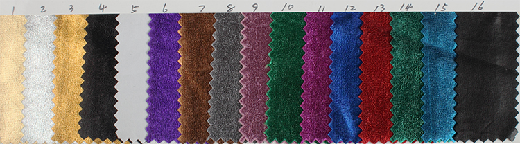 metallic stretch color chart