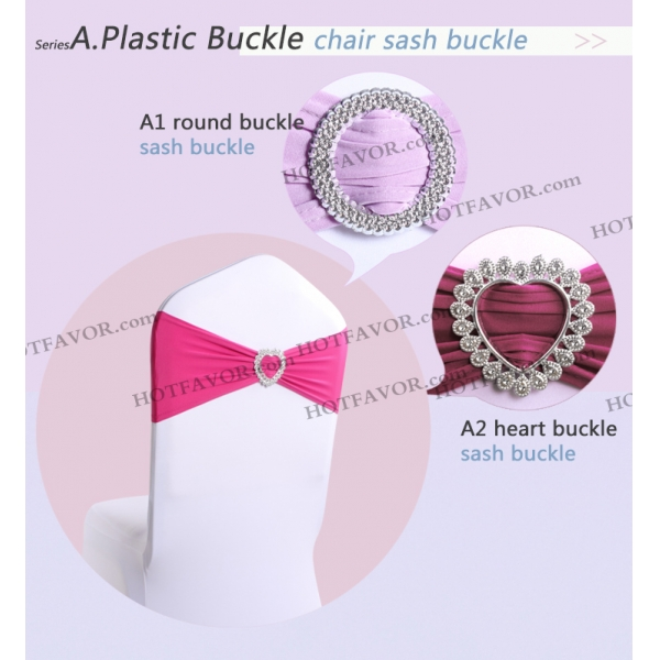 sash buckle chair sash buckle in heart and circle