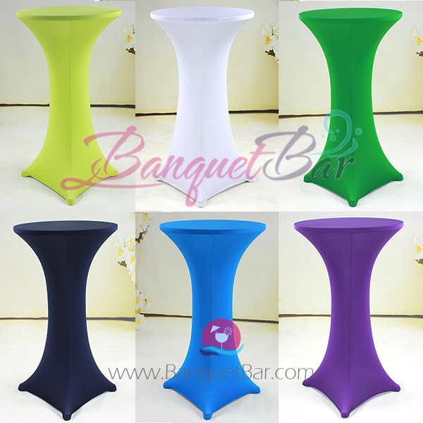 spandex cocktail table chair covers for lycra chair sash